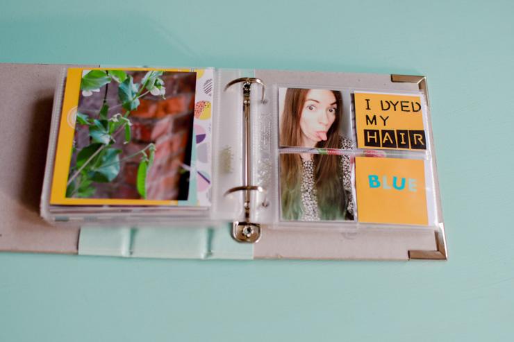 Créer son album photo DIY avec le format project life