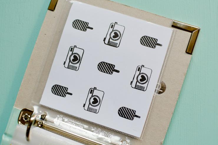 Tampons pour décorer mon album photo scrapbooking