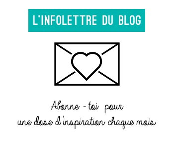infolettre du blog lifestyle Birds & Bicycles