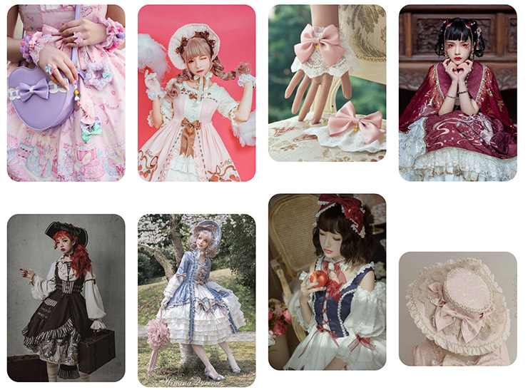 Lolita fashion: moodboard sur Pinterest