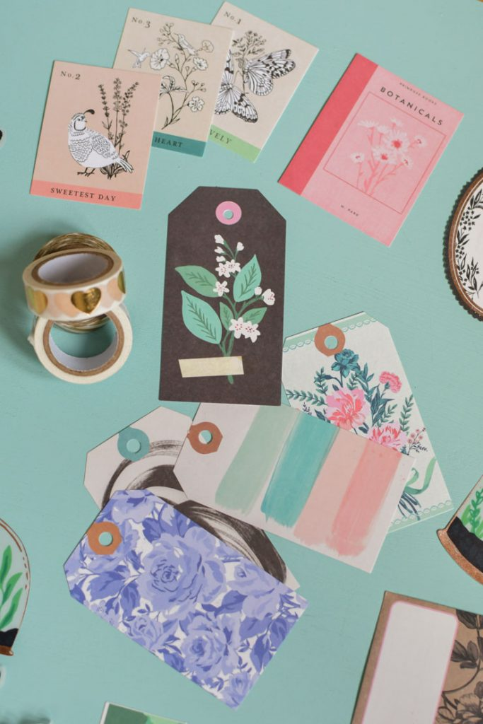 Elements de scrapbooking type ephemera de Maggie Holmes
