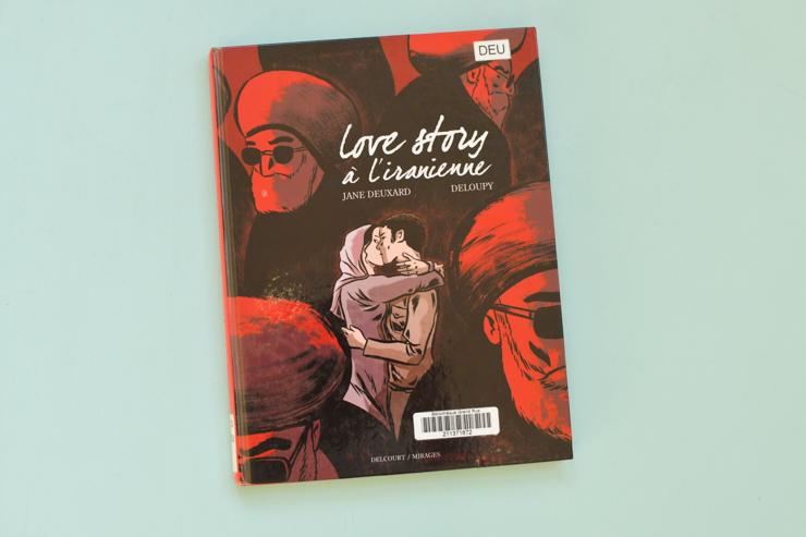 Love story à l'iranienne: superbe BD de reportage
