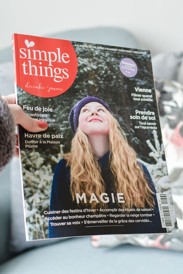 Simple Things, un magazine slow