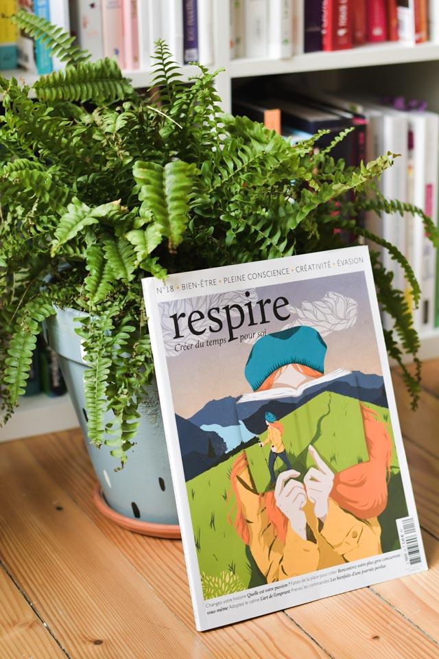 Respire, un magazine slow