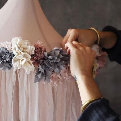 DIY Fleurs en tissu - kit