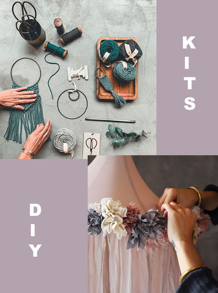 Des kits de do it yourself: ma sélection sur le blog