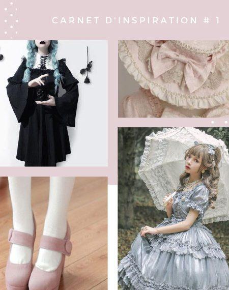 Mode lolita: carnet d'inspirations