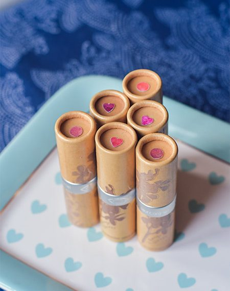 Astuce rouges à lèvres: créer des pastilles de couleur