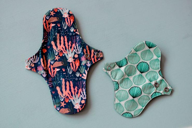 Serviettes lavables aux jolis motifs