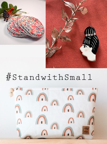 Jolie sélection girly sur Etsy #Standwithsmall