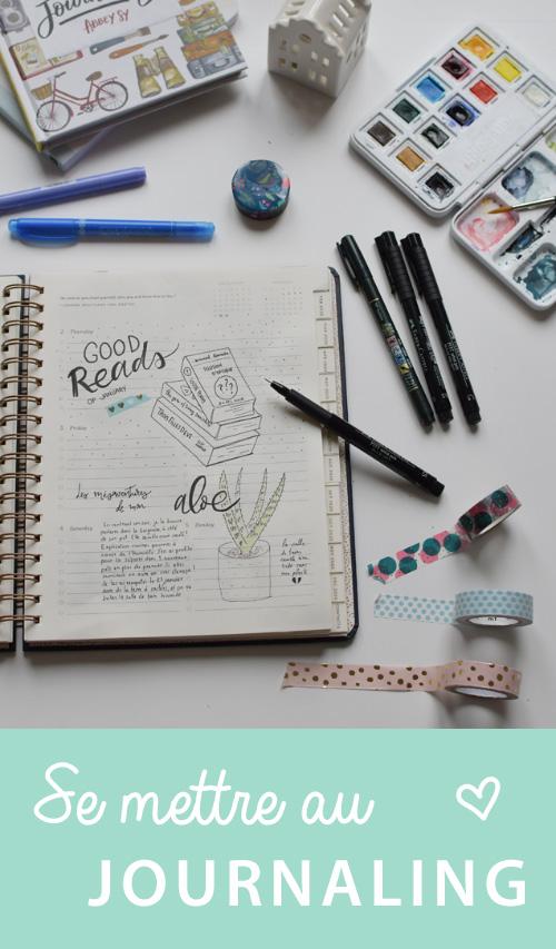 Comment débuter le journaling: pistes et ressources pour se lancer