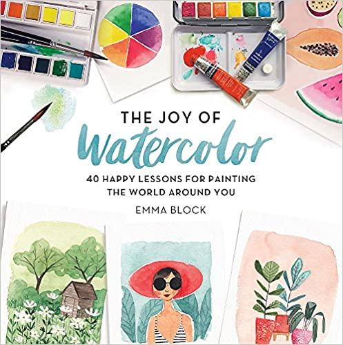 Apprendre l'aquarelle avec un livre d'Emma Block, illustratrice anglaise