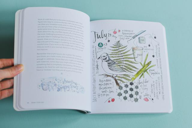 Dans ce livre, l'illustratrice Samantha Dion Baker donne des conseils pour tenir un journal