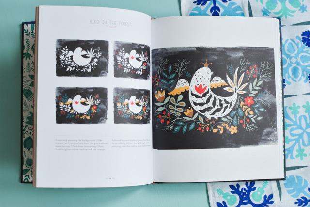 Ce livre est merveilleux si vous aimez le folklore et les animaux fantastiques, et avez envie d'apprendre à peindre à la gouache.