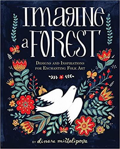 Un livre pour apprendre à peindre des motifs folkloriques avec Mirdinara