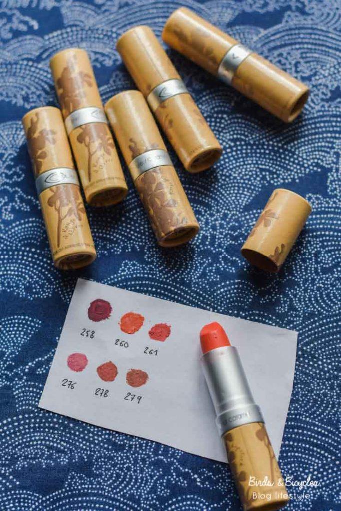 Comment reconnaître ses rouges à lèvres Couleur Caramel? Astuce pour ajouter un code couleur!