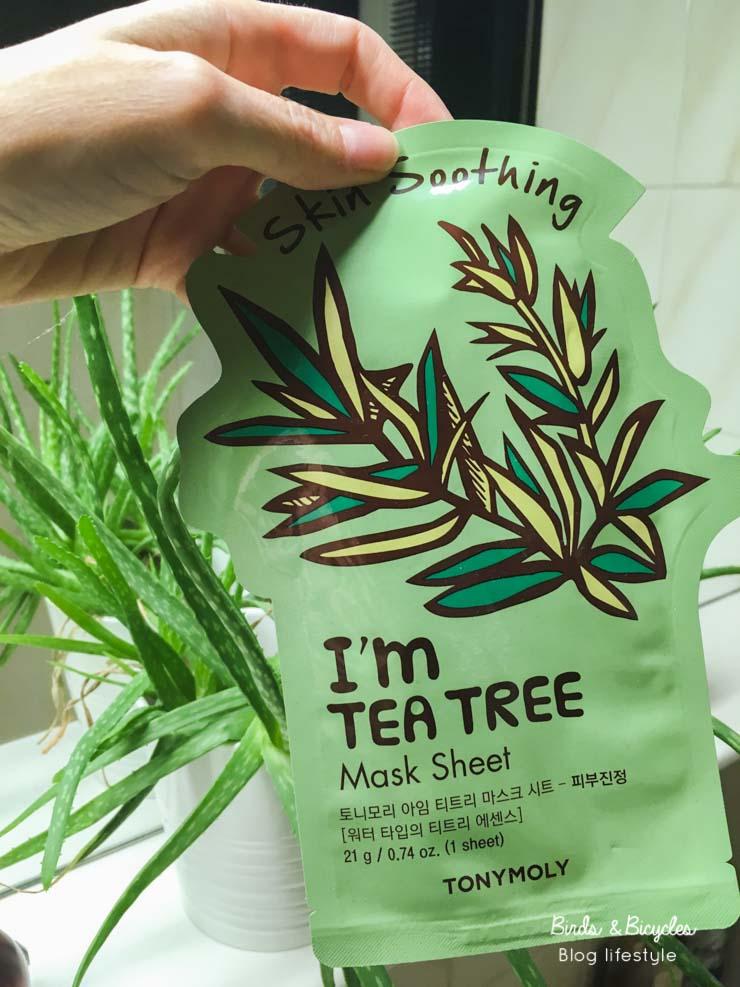 Test I'm Real Tea Tree de Tony Moly- mon avis sur des sheet masks coréens