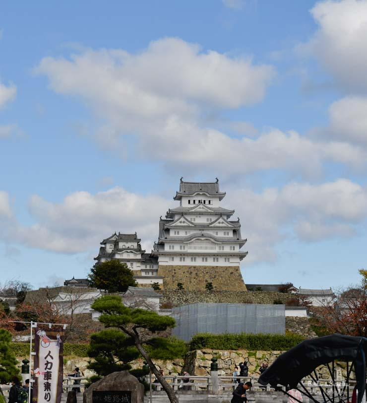 Visiter le Château de Himeji - Voyage au Japon sur le blog