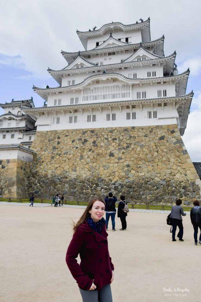 Visiter le Château de Himeji - Voyage au Japon sur le blog Birds & Bicycles