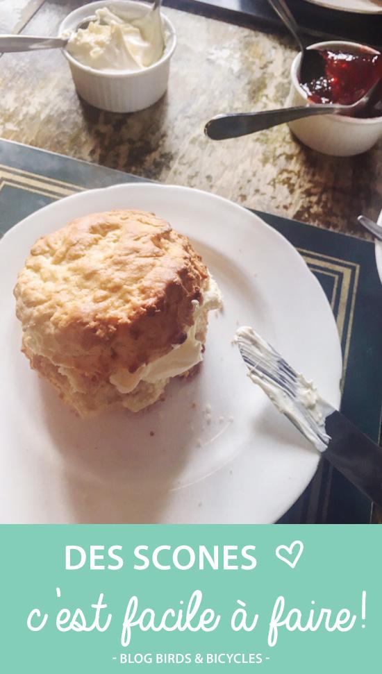Goût d'Angleterre : Des scones, une spécialité anglaise à faire facilement chez soi!