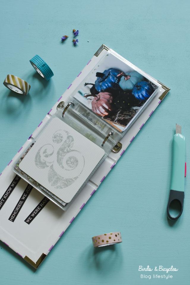 Mon album photo Project Life - Scrapbooking France