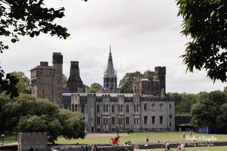 Le château de Cardiff, incontournable