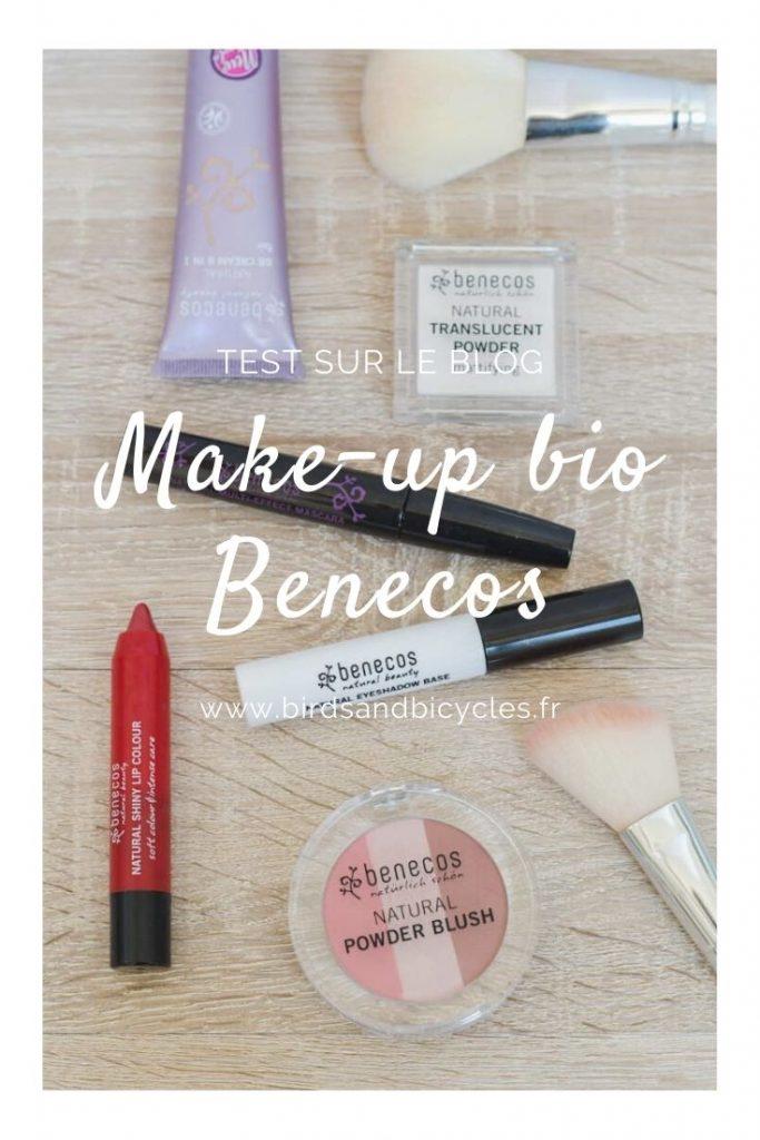 Mon avis sur le maquillage bio de Benecos