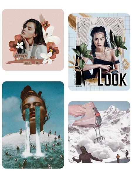 Passion collages! Libérer sa créativité à coups de ciseaux