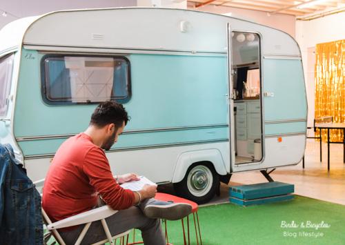 La caravane Elsie au Towed Town Camping - adresse à Bristol