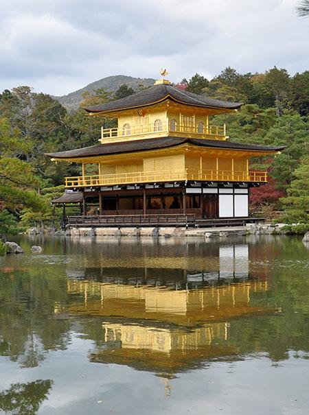 Voyage à Kyoto - Le sanctuaire zen du Pavillon d'Or - Blog voyage Japon