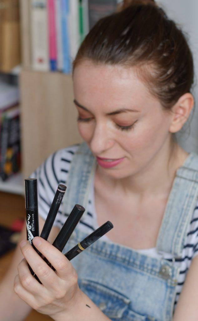 Test maquillage - meilleurs eyeliners pour débutantes