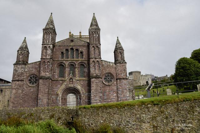 La Cathédrale anglicane de St Davids - idées de choses à voir au Pays de Galles dans le Pembrokeshire
