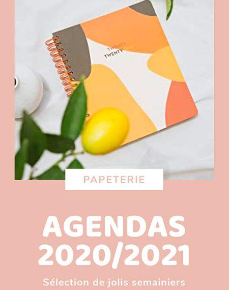Sélection de jolis agendas girly pour l'année 2020/2021