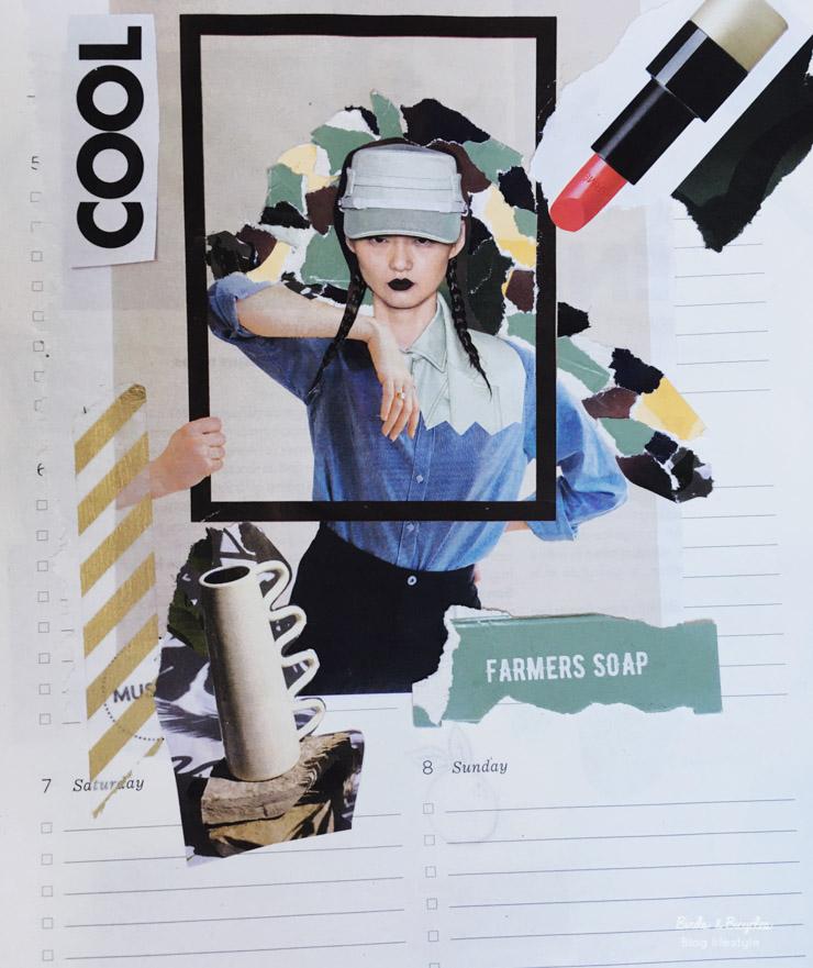 Collages - créativité sur le blog lifestyle Birds & Bicycles