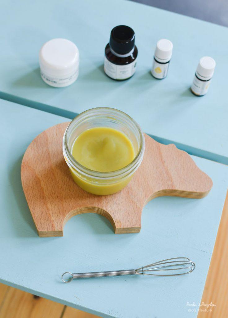 Beurre corporel 100% naturel: recette pour le faire maison avec du beurre de karité et de l'huile d'avocat, chez My Cosmetik
