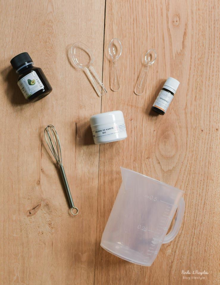Matériel pour fabriquer des cosmétiques à la maison - kits débutants