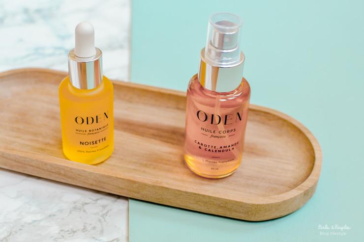 Avis et test de l'huile corps d'Oden sur le blog beauté Birds & Bicycles. Des cosmétiques naturels et 100% made in France
