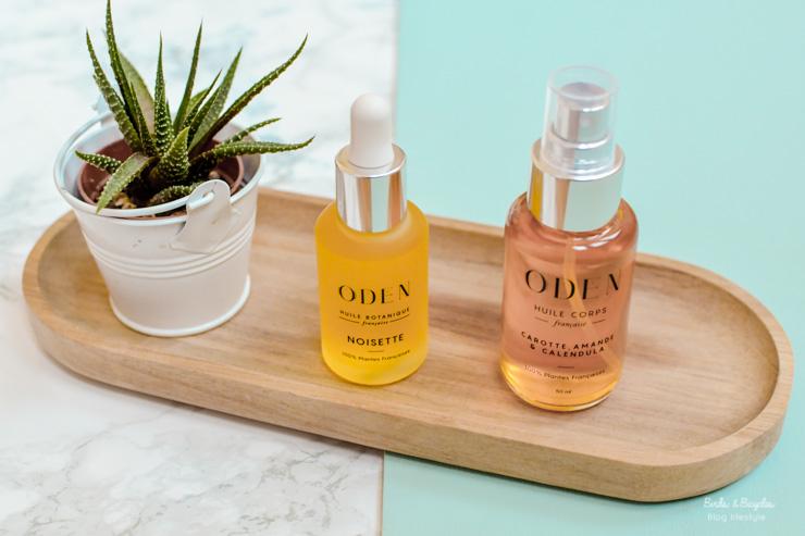 Les huiles à base de plantes françaises d'Oden