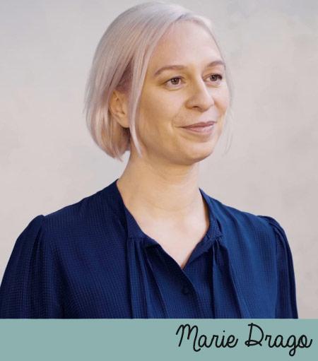 Marie Drago, fondatrice de la marque de cosmétiques Gallinée