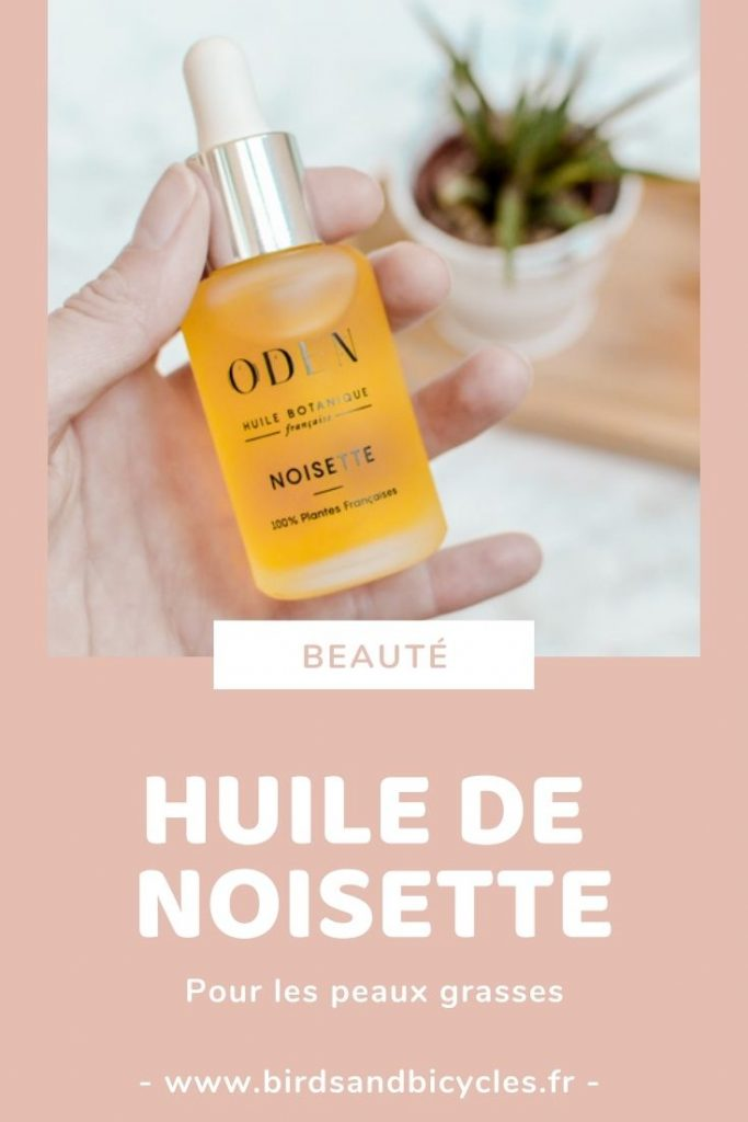 Huile à la noisette Oden au parfum incroyable