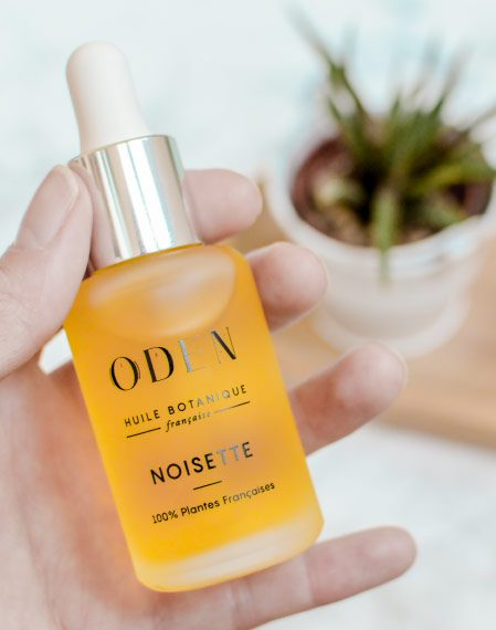 Avis et test huile à la noisette Oden pour le visage. Mon avis sur ces huiles végétales made in France par une petite marque