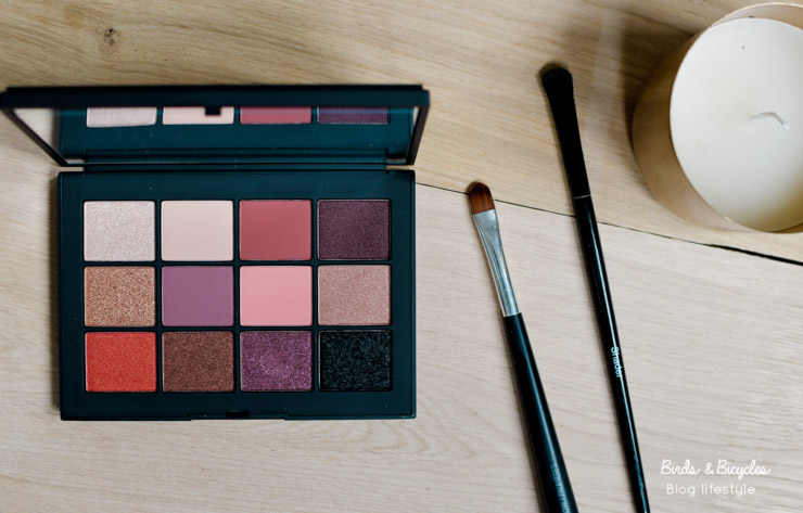 Swatch Nars Extreme Effects Eyeshadow Palette