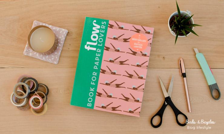 Feuilletons le Book for paper lovers 4 de Flow ! DIY de papier, stickers, c'est un must pour les fans de scrapbooking, carnets créatifs, bujo...