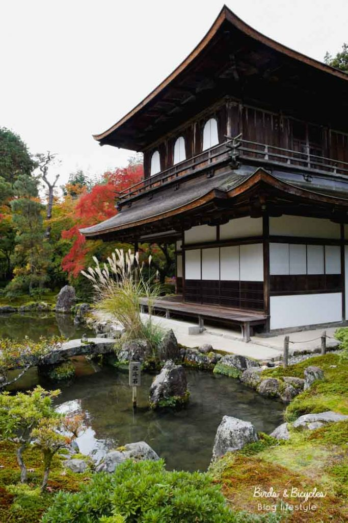 Ginkakuji - le pavillon d'argent à Kyoto - blog voyage au Japon