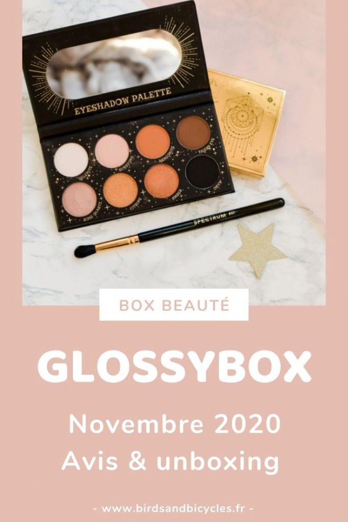 Avis box beauté sur le blog - test & unboxing Glossybox