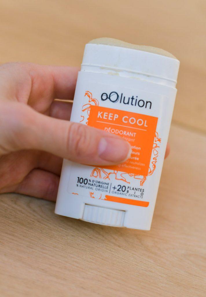 Tests: les déos d'Oolution - Déo aux agrumes Keep Cool - blog beauté Birds & Bicycles