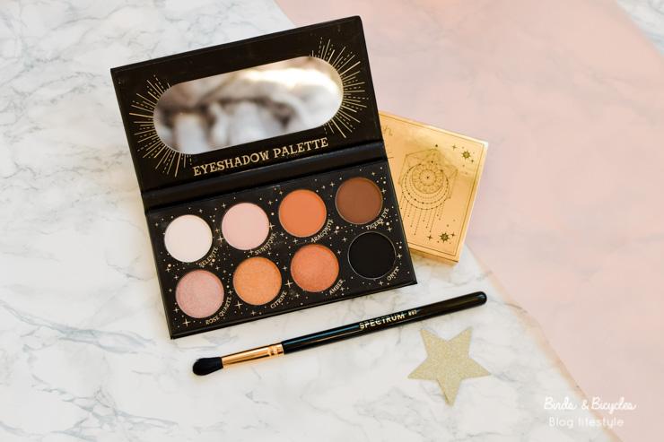 Une Palette LA Splash - La Glossybox de novembre en images et mon avis sur cette box beauté, et un code promo