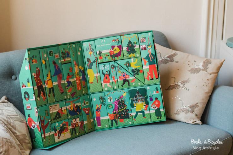 Sur le blog, je vous montre mon beau calendrier de l'Avent
