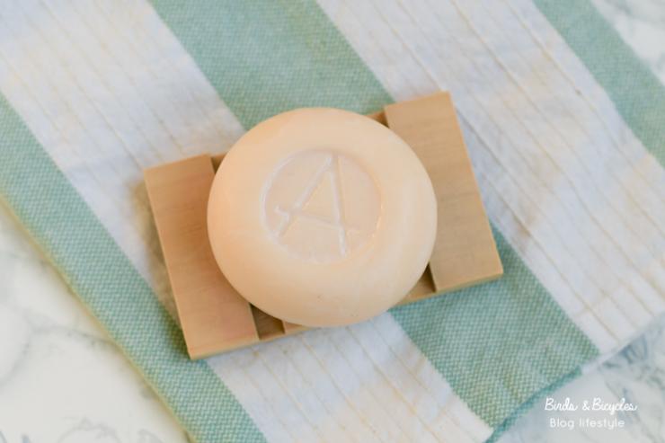 Un masque au savon de lait de chèvre! Une idée de la marque naturelle française Amalthée