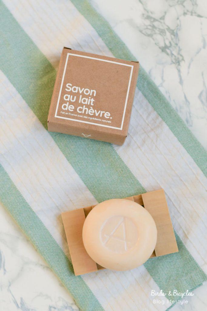 Le savon au lait de chèvre d'Amalthée - test & avis